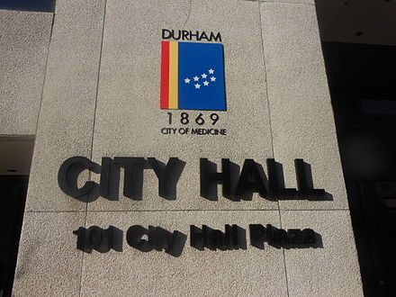 Durham City Hall Durham City Hall.JPG