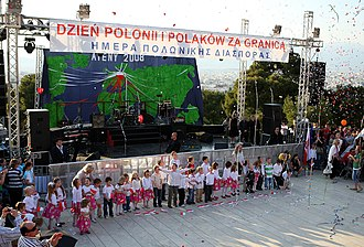 Polish diaspora - Polonia Days in Athens (2008)