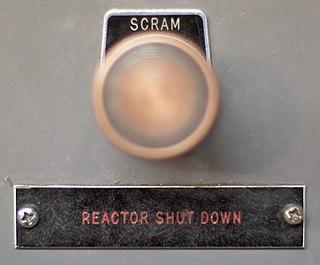 Scram Emergency shutdown of a nuclear reactor