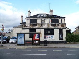 The Alexandra, New Barnet - The Alexandra from East Barnet Road.