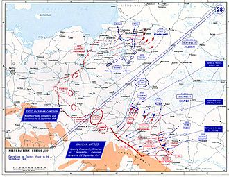First Battle of the Masurian Lakes - Image: Eastern Front 1914a