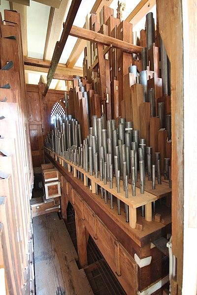 Datei:Ebsdorfergrund-Dreihausen-ev Kirche-Kirche-Pfeifen 2.JPG