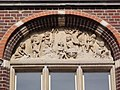 Echt, Limburg, Rijksmonument 525535 voormalig raadhuis, tympaan.JPG