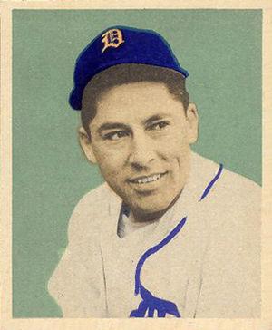 Eddie Lake - Eddie Lake's 1949 Bowman baseball card