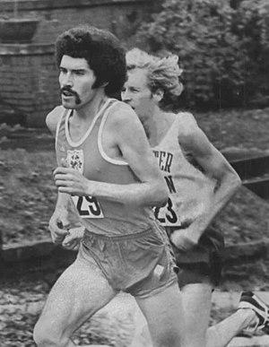 Eddie Leddy - Leddy (left) at the 1976 Olympics