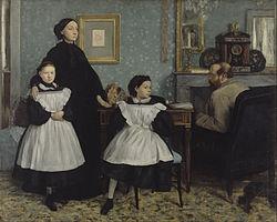 Edgar Degas: The Bellelli Family