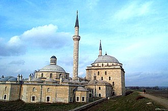 Edirne - Ottoman külliye and hospital built by Bayezid II