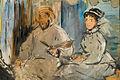 Edouard Manet, The Painter Monet in his Studio-boat. Staatsgalerie Stuttgart.jpg
