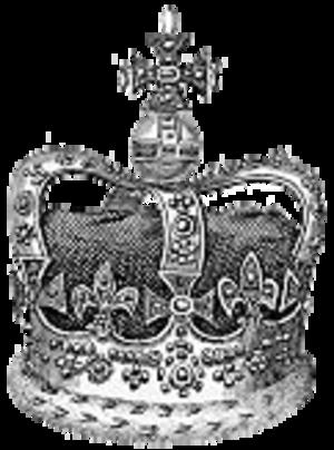Monde - St. Edward's Crown (England)
