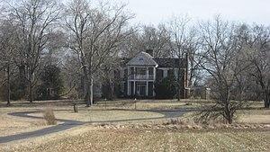 Benjamin Bristow -  Bristow's birthplace Edwards Hall