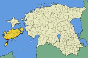 Salme Parish - Image: Eesti salme vald