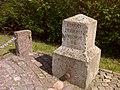 Egebæk-Hviding, Vermessungspunkt Koeniglich Preussisches Nivellement.jpg