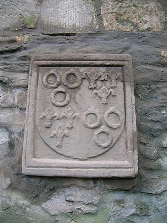 Seagate Castle - Montgomerie Coat of Arms of the late seventeenth century
