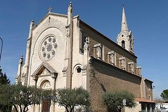 Althen-des-Paluds - Image: Eglise à Athen des Paluds