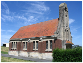 The church in Cizancourt