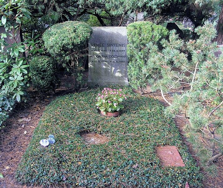 File:Ehrengrab Hüttenweg 47 (Dahl) Renee Sintenis.jpg