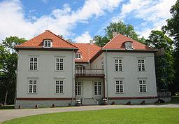 Eidsvollsbygningen, hvor grundloven blev undertegnet i 1814