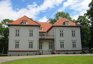 Constitution of Norway - Eidsvollsbygningen, the site of the drafting of the Constitution