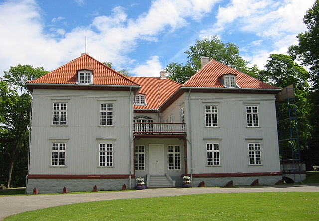 Eidsvollsbygningen, the site of the drafting of the Constitution