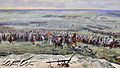 Eigenbrakel - Panorama - charge Franse cavalerie met maarschalk Michel Ney 19-8-2015 14-20-19.JPG