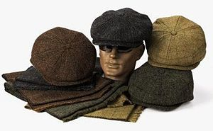 Newsboy cap - Eight-paneled caps in various colors.
