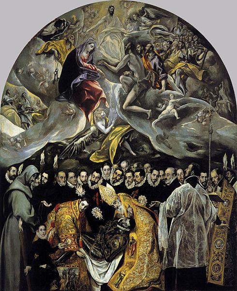 Archivo:El Greco - The Burial of the Count of Orgaz.JPG ...