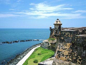 Invasion of Cuba (1741) - Castle of El Morro on Santiago de Cuba