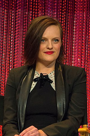 Elisabeth Moss - Moss at the Paley Center in 2014
