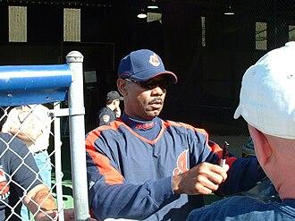Ellis Burks - Ellis Burks in 2007