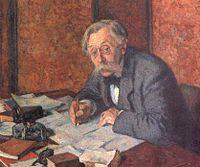 Portrait par Théo Van Rysselberghe