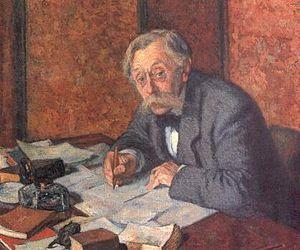 Emile Verhaeren - Verhaeren painted by Théo van Rysselberghe