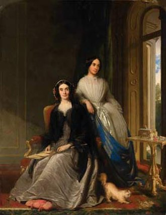 George Holt (cotton-broker) - Image: Emma Durning Holt and Anne Holt by Philip Westcott
