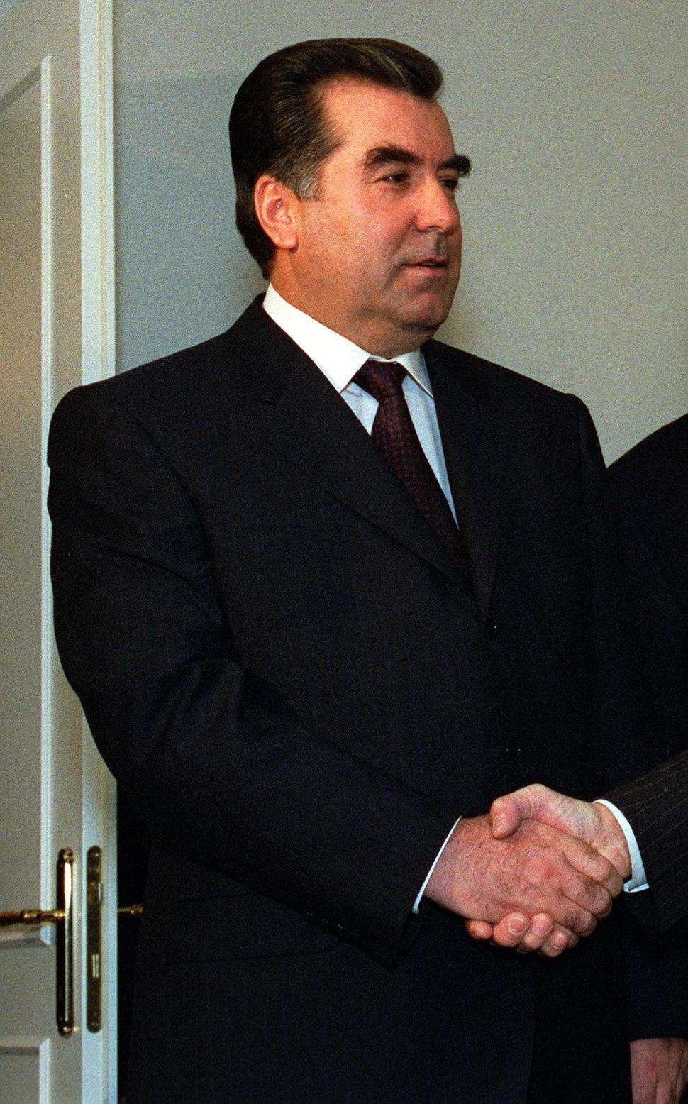 Emomali Rahmonov 2001