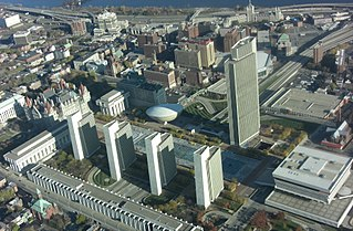 building complex in Albany, New York, United States