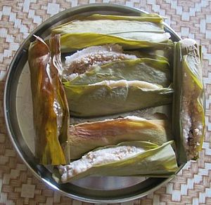 Festivals of Odisha - Enduri Pitha which is prepared on Prathamastami.