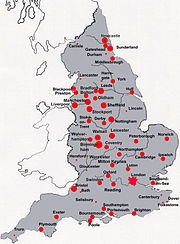 England Cities