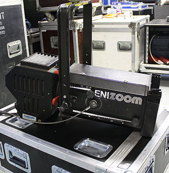 Ellipsoidal reflector spotlight - Niethammer Enizoom ERS with variable focus (Zoom).
