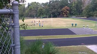 William G. Enloe High School - Enloe's track and practice field as seen from the East campus