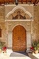 Entrance to Church of Virgin Mary of Chrysopolitissa, Larnaca, Cyprus 07.jpg