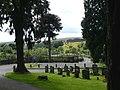 Entrance to Rhymney Cemetery - geograph.org.uk - 499824.jpg