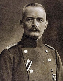 Erich von Falkenhayn Chief of Germanys General Staff during the first two years of the First World War