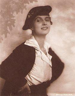 Erna Morena German actress
