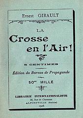 La Crosse en el aire, 1906.