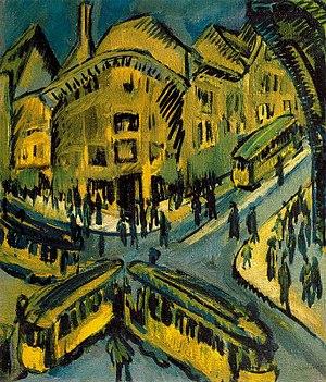 Ernst Ludwig Kirchner – Nollendorfplatz 1912