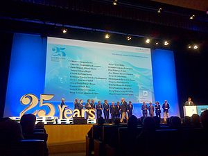 ESADE - 25th anniversary tribute to founders, in 2014