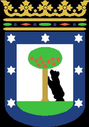 Justicia (Madrid) - Image: Escudo de Madrid