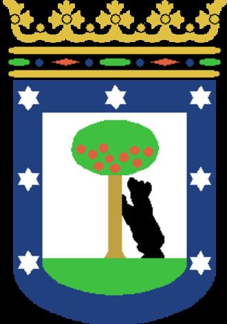 Moncloa-Aravaca - Image: Escudo de Madrid