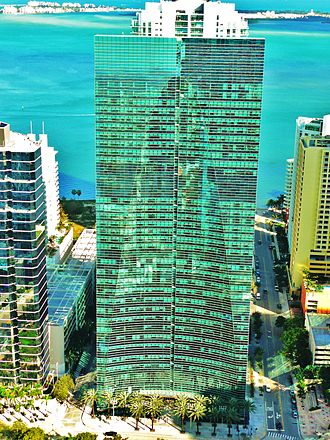Brickell Arch - Espirito Santo Plaza on Brickell Avenue