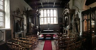 Watford - The Essex Chapel in Saint Mary's Church