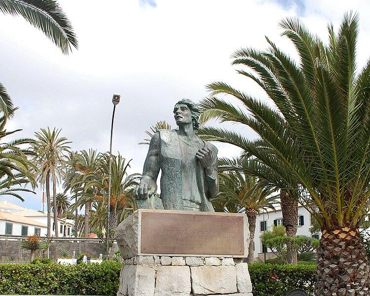 File:Estátua de Colombo - Porto Santo.jpg